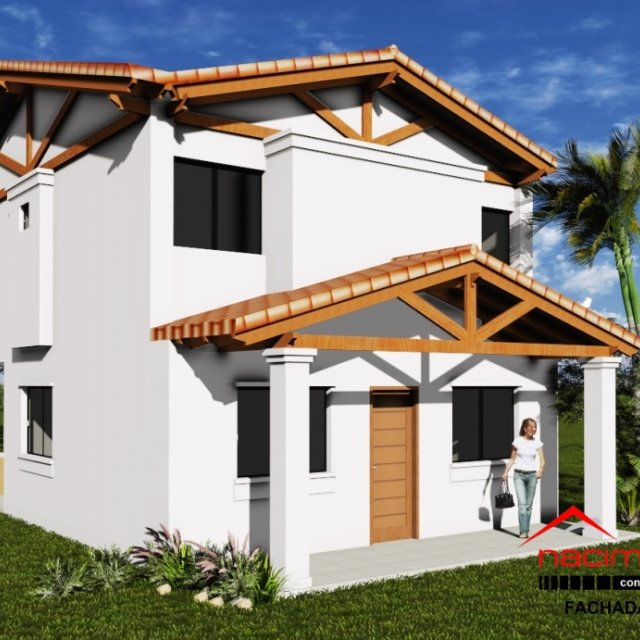 Casa 442 13324 m2 de construccion